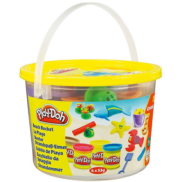 Hasbro Мини-набор для лепки Play-Doh - Пляж игровой набор для лепки play doh ведерочко геометрические фигуры