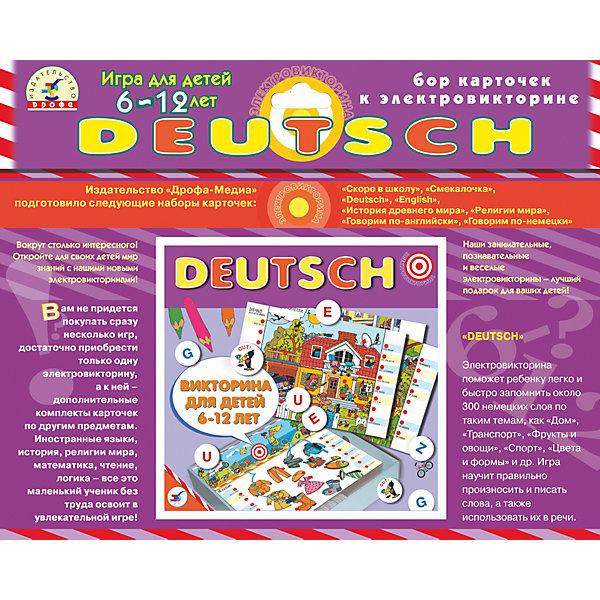 Дрофа-Медиа Набор карточек Deutsch,