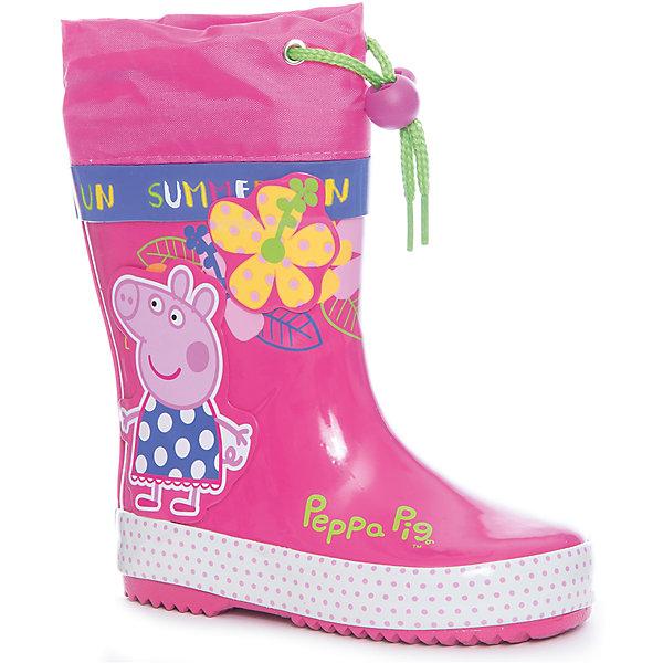 KAKADU Резиновые сапоги для девочки KAKADU
