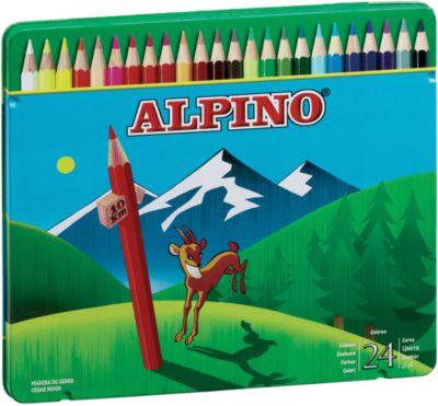 Цветные шестигранные карандаши, 24 цв., артикул:5389709 - Рисование и раскрашивание