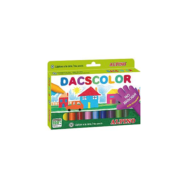 ALPINO Восковые карандаши DACSCOLOR, 12 цв. alpino 12 150