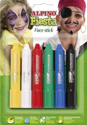 Детский аквагрим  Face Stick  (макияжные карандаши), 6*5 гр, 6 цв., артикул:5389756 - Детские карнавальные костюмы и аксессуары
