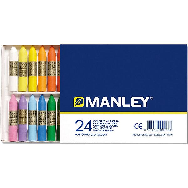 Купить восковая пастель MANLEY , 24 цв. (5389782) в Москве, в Спб и в России