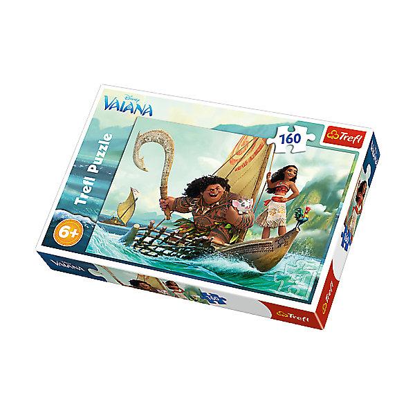Фотография товара пазл «Моана и Мауи», 160 деталей, Trefl (5390273)