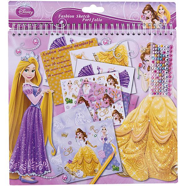 Limpopo Альбом для творчества А4, Принцессы Дисней наборы для творчества ravensburger мандала принцессы