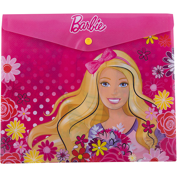 Конверт под российскую тетрадь BarbieПапки для тетрадей<br>Конверт под российскую тетрадь Barbie<br><br>Характеристики:<br><br>• Размер: 250х3х210мм<br>• Вес: 35г<br>• Толщина пластика: 180мкм<br>• Формат: А5+<br>• Крепление: на кнопке<br>• Материал: полипропилен<br><br>Красивый конверт с героями популярного мультфильма поможет переносить листы а4, а также любые тетради до размера А5+. Благодаря толстому пластику тетради надежно защищены от влаги или грязи. Папка закрывается на кнопку, которую легко расстегнуть самостоятельно и которая надежно удерживает тетради внутри.<br><br>Конверт под российскую тетрадь Barbie можно купить в нашем интернет-магазине.<br>Ширина мм: 250; Глубина мм: 3; Высота мм: 210; Вес г: 35; Возраст от месяцев: 48; Возраст до месяцев: 144; Пол: Женский; Возраст: Детский; SKU: 5390325;