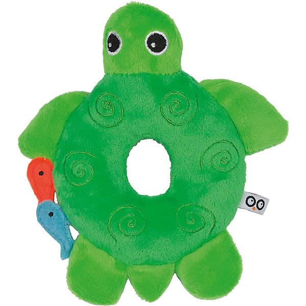 Погремушка Черепашка, Zoocchini, зелёныйПогремушки<br>Погремушка Черепашка, Zoocchini, зелёный.<br><br>Характеристики:<br><br>- Материал: полиэстер<br>- Цвет: зеленый<br>- Размер: 10х2,5х15 см.<br><br>Мягкая, приятная на ощупь погремушка в виде милой черепашки заставит вашего ребёнка улыбаться! Яркий цвет, приятный звук погремушки будут способствовать развитию слухового и цветового восприятия, мелкой моторики рук и концентрации внимания малыша. Погремушка Черепашка составит прекрасную пару одеялу с игрушкой Zoocchini.<br><br>Погремушку Черепашка, Zoocchini, зелёную можно купить в нашем интернет-магазине.<br>Ширина мм: 120; Глубина мм: 75; Высота мм: 205; Вес г: 72; Возраст от месяцев: 0; Возраст до месяцев: 12; Пол: Унисекс; Возраст: Детский; SKU: 5392933;