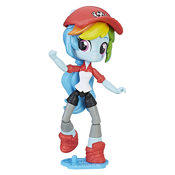 Hasbro Мини-кукла Equestria Girls, Рэйнбоу Дэш hasbro кукла делюкс рейнбоу дэш my little pony