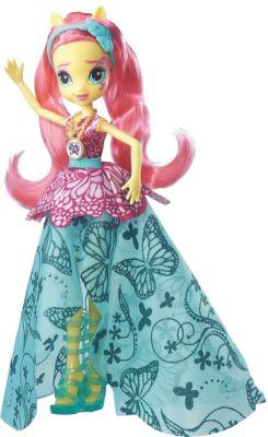Кукла Эквестрия Герлз  Легенды вечнозеленого леса  Crystal Gala  Флаттершай, артикул:5395779 - Категории