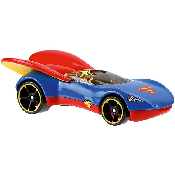 Mattel Машинка DCSHG Супергёрл, Hot Wheels