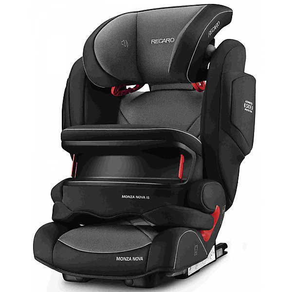 RECARO Автокресло RECARO Monza Nova IS Seatfix 9-36 кг, Carbon Black автокресло recaro monza nova is seatfix dakar send