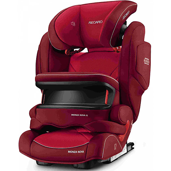 RECARO Автокресло RECARO Monza Nova IS Seatfix 9-36 кг, Indy Red panasonic rp hde3mgc k in ear earphone stereo sound headphones headset music earpieces with microphone earphones super bass