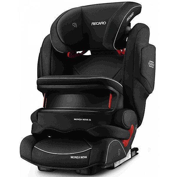 RECARO Автокресло  Monza Nova IS Seatfix 9-36 кг, Perfomance Black