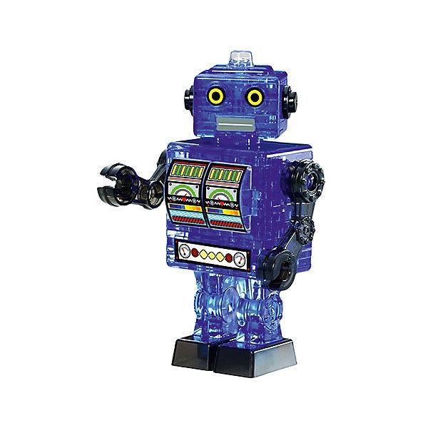 Купить Кристаллический пазл 3D Синий робот , Crystal Puzzle, Россия, Мужской