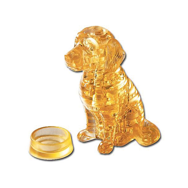 Crystal Puzzle Кристаллический пазл 3D Лабрадор, Crystal Puzzle metal diy nano 3d puzzle model tiger tank kids diy craft 3d metal model puzzles 3d solid jigsaw puzzle