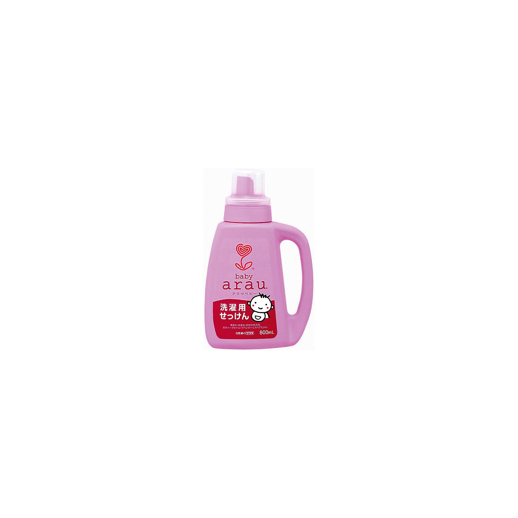 Жидкость для стирки детской одежды Arau Baby, 800 мл., saraya (Saraya)