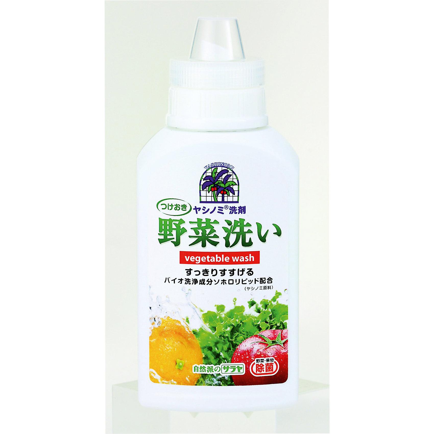 Средство для мытья посуды, овощей и фруктов Yashinomi 500 мл., saraya (Saraya)