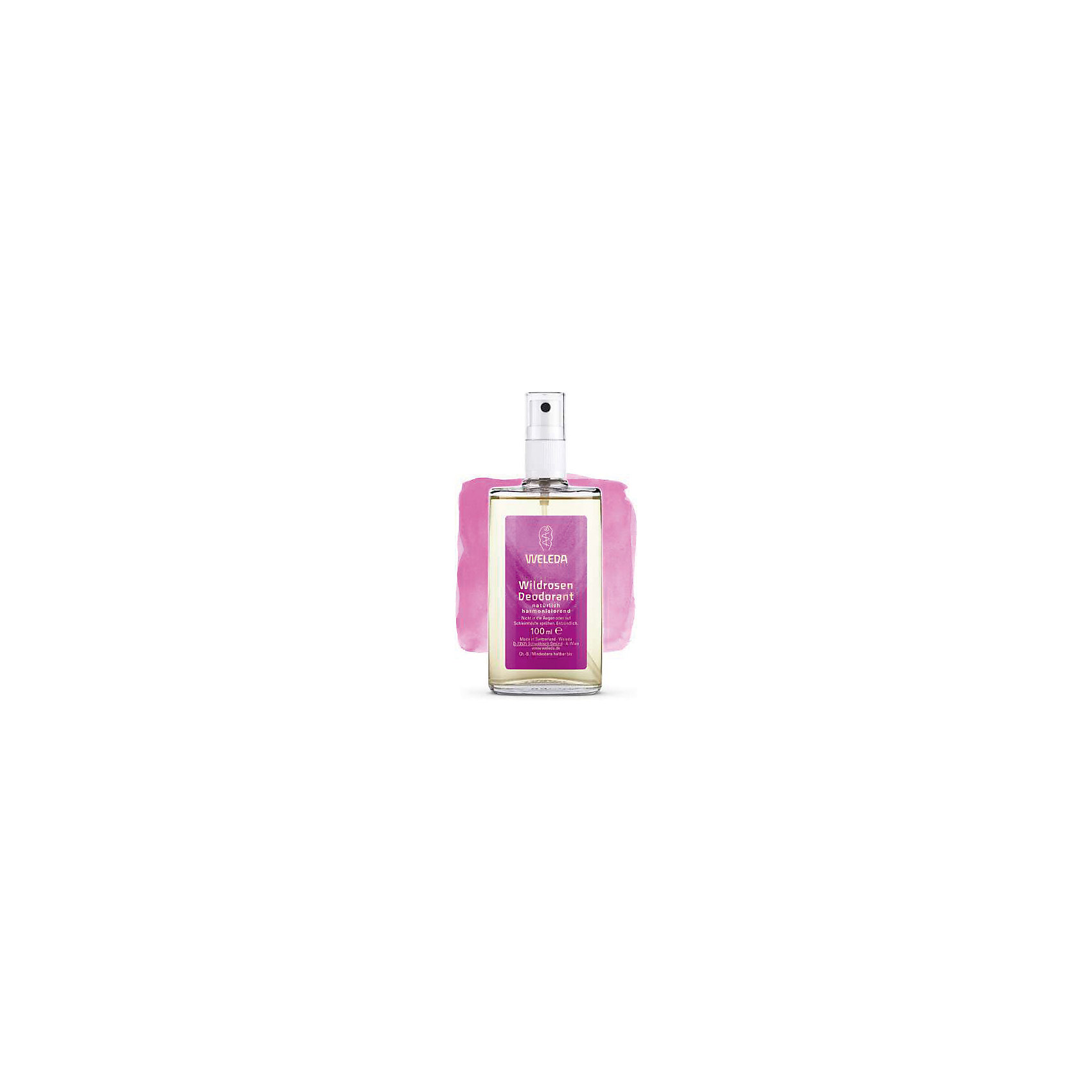 Дезодорант розовый, 100 мл., Weleda