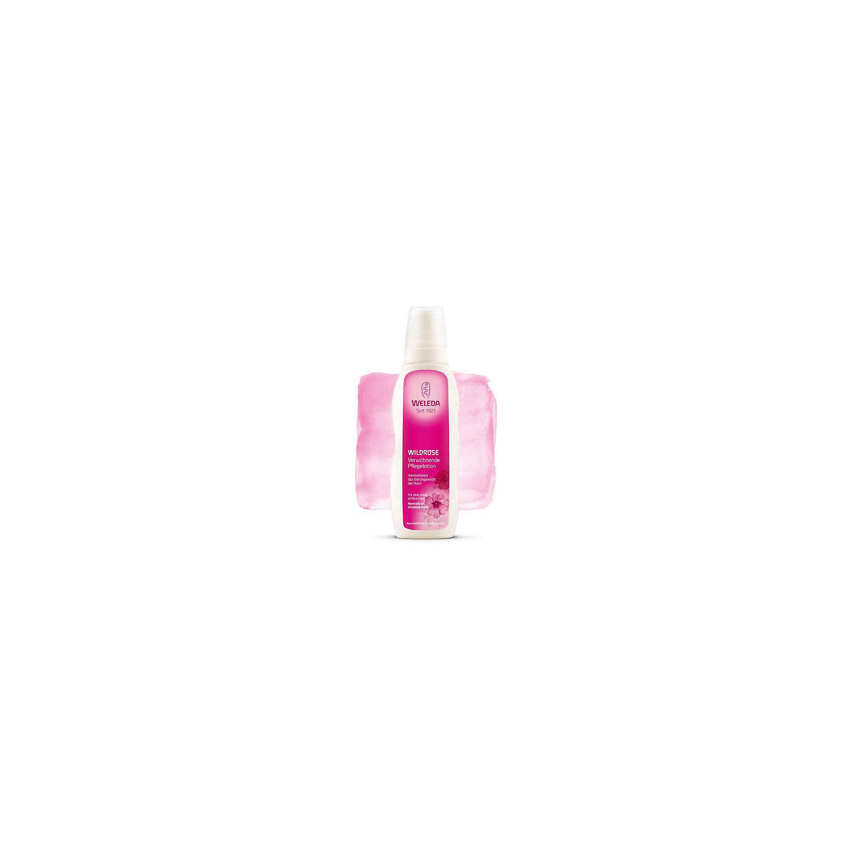 Молочко розовое гармонизирующее для тела, 200мл., Weleda (-)