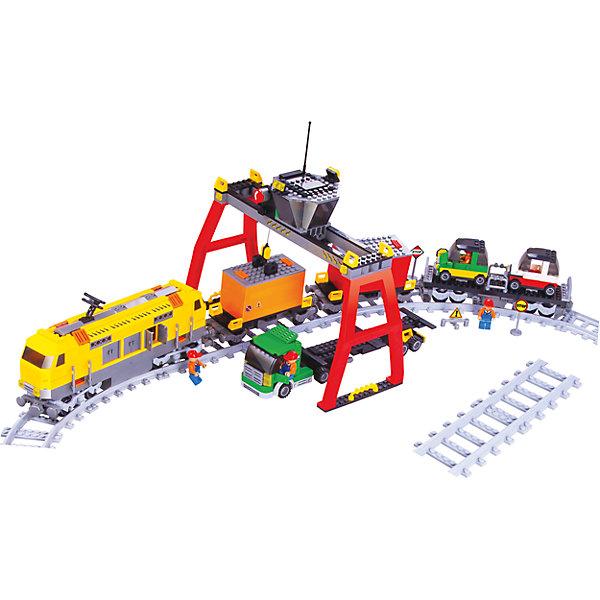 Фотография товара железная дорога Конструктор Грузовая станция, Голубая стрела (5400249)