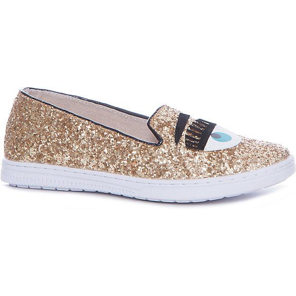 Vitacci Слипоны для девочки Vitacci обувь для детей