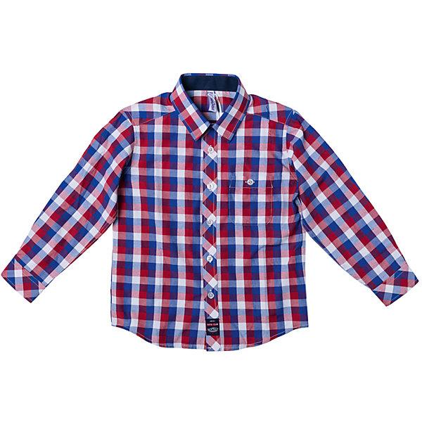 Рубашка для мальчика PlayTodayБлузки и рубашки<br>Характеристики товара:<br><br>• цвет: разноцветный<br>• состав: 80% хлопок, 20% полиэстер<br>• карман<br>• дышащий материал<br>• длинные рукава<br>• застежки: пуговицы<br>• воротник отложной<br>• комфортная посадка<br>• коллекция: весна-лето 2017<br>• страна бренда: Германия<br>• страна производства: Китай<br><br>Популярный бренд PlayToday выпустил новую коллекцию! Вещи из неё продолжают радовать покупателей удобством, стильным дизайном и продуманным кроем. Дети носят их с удовольствием. PlayToday - это линейка товаров, созданная специально для детей. Дизайнеры учитывают новые веяния моды и потребности детей. Порадуйте ребенка обновкой от проверенного производителя!<br>Такая стильная модель обеспечит ребенку комфорт благодаря качественному материалу и продуманному крою. С помощью неё можно удобно одеться по погоде. Очень модная вещь! Симпатично выглядит и долго служит.<br><br>Сорочку для мальчика от известного бренда PlayToday можно купить в нашем интернет-магазине.<br>Ширина мм: 174; Глубина мм: 10; Высота мм: 169; Вес г: 157; Цвет: белый; Возраст от месяцев: 84; Возраст до месяцев: 96; Пол: Мужской; Возраст: Детский; Размер: 128,98,122,116,110,104; SKU: 5401936;