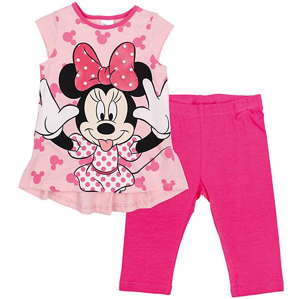 Купить Комплект для девочки PlayToday, Китай, розовый, 110, 98, 128, 122, 116, 104, Женский