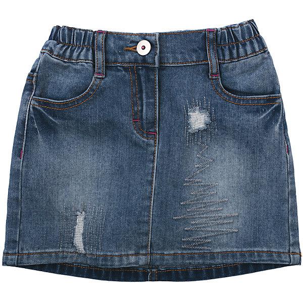 Купить со скидкой Юбка джинсовая для девочки PlayToday
