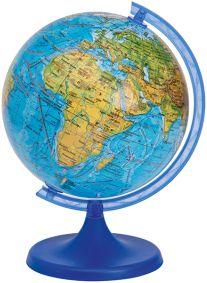 Глобус 32см, Физический + Мини-энциклопедия  Физическая география Земли , артикул:5405058 - Глобусы