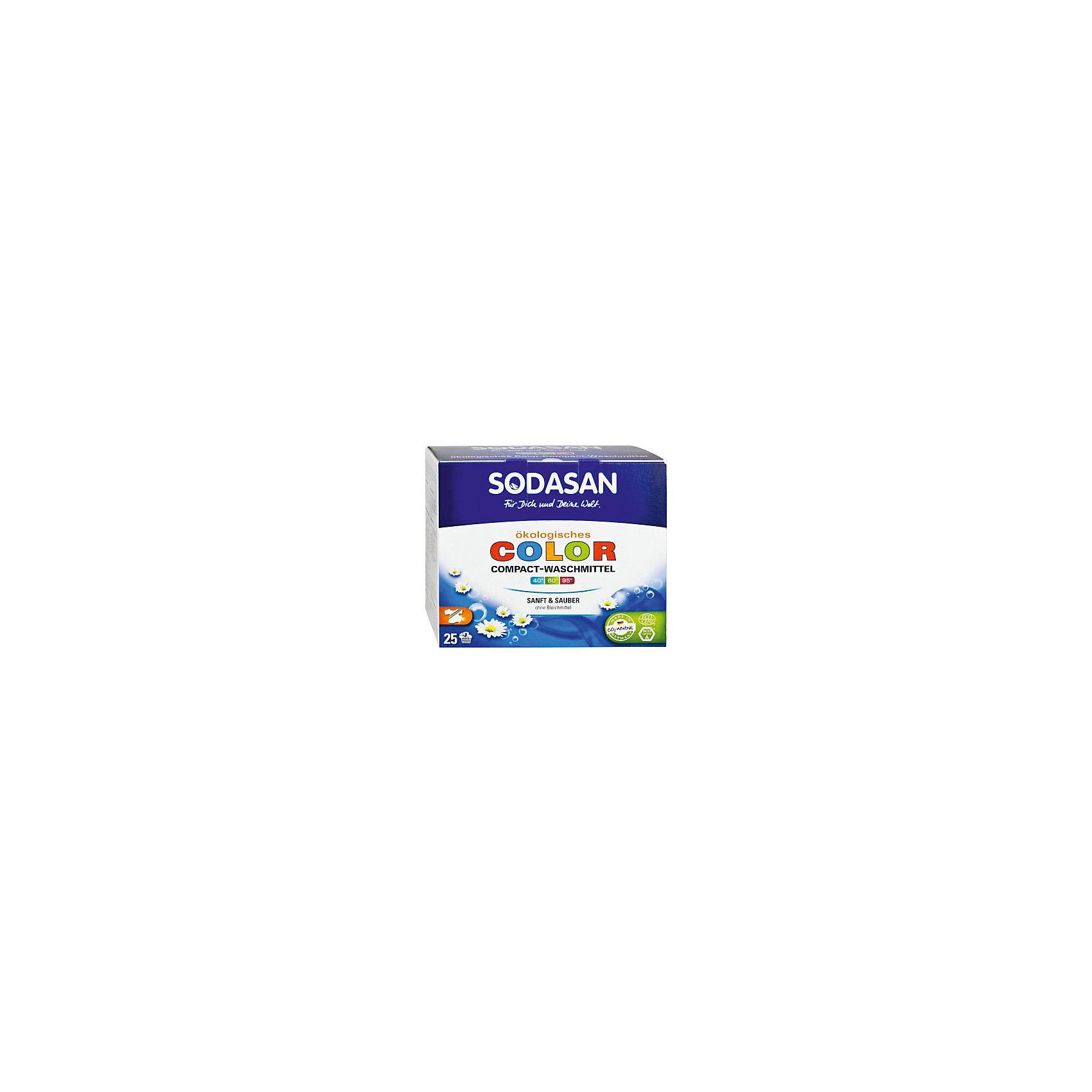 Стиральный порошок-концентрат для стирки изделий из цветных тканей 12кг, Sodasan
