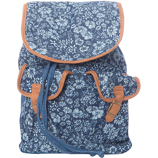 Рюкзак  PlayToday для девочкиЧемоданы и дорожные сумки<br>Характеристики товара:<br><br>• цвет: синий<br>• состав: 100% хлопок<br>• застёжка: шнурок-утяжка<br>• количество отделений: 1<br>• наружные карманы<br>• регулируемые лямки<br>• ширина: 20 см<br>• глубина: 8 см<br>• высота: 30 см<br>• страна бренда: Германия<br>• страна производства: Китай<br><br>Городской рюкзак для девочки PlayToday (Плей Тудей). Этот эффектный рюкзак с цветочным рисунком понравится ребенку. В нем поместятся все необходимые принадлежности. Выполнен из натуральной хлопковой ткани. Модель с регулируемыми анатомическими лямками.<br><br>Рюкзак для девочки от известного бренда PlayToday можно купить в нашем интернет-магазине.<br>Ширина мм: 227; Глубина мм: 11; Высота мм: 226; Вес г: 350; Цвет: белый; Возраст от месяцев: 6; Возраст до месяцев: 9; Пол: Женский; Возраст: Детский; Размер: one size; SKU: 5407683;