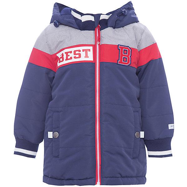 Куртка для мальчика PlayTodayВерхняя одежда<br>Характеристики товара:<br><br>• цвет: синий<br>• состав: 100% полиэстер<br>• подкладка: 80% хлопок, 20% полиэстер<br>• утеплитель: 100% полиэстер, 150 г/м2<br>• температурный режим: от +0°С до +15°С<br>• сезон: демисезон<br>• водоотталкивающая пропитка<br>• карманы<br>• молния с защитой подбородка<br>• эластичные манжеты<br>• светоотражающие элементы<br>• капюшон<br>• страна бренда: Германия<br>• страна производства: Китай<br><br>Куртка с капюшоном для мальчика PlayToday. Практичная утепленная куртка на молнии со специальной водоотталкивающей пропиткой защитит ребенка в любую погоду! Мягкие трикотажные резинки на рукавах защитят ребенка - ветер не сможет проникнуть под куртку.  <br><br>Специальный карман для фиксации застежки-молнии не позволит застежке травмировать нежную детскую кожу. Модель снабжена светоотражателями на рукаве и по низу изделия - ребенок будет виден даже в темное время суток.<br><br>Куртку для мальчика от известного бренда PlayToday можно купить в нашем интернет-магазине.<br>Ширина мм: 356; Глубина мм: 10; Высота мм: 245; Вес г: 519; Цвет: белый; Возраст от месяцев: 6; Возраст до месяцев: 9; Пол: Мужской; Возраст: Детский; Размер: 74,92,86,80; SKU: 5407690;