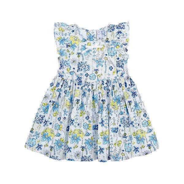 Платье для девочки PlayTodayПлатья<br>Характеристики товара:<br><br>• цвет: голубой<br>• состав: 100% хлопок<br>• молния<br>• качественный материал<br>• оборки<br>• комфортная посадка<br>• коллекция: весна-лето 2017<br>• страна бренда: Германия<br>• страна производства: Китай<br><br>Популярный бренд PlayToday выпустил новую коллекцию! Вещи из неё продолжают радовать покупателей удобством, стильным дизайном и продуманным кроем. Дети носят их с удовольствием. PlayToday - это линейка товаров, созданная специально для детей. Дизайнеры учитывают новые веяния моды и потребности детей. Порадуйте ребенка обновкой от проверенного производителя!<br>Эта модель обеспечит ребенку комфорт благодаря качественному материалу и удобному крою. С её помощью можно сделать интересный акцент в образе, дополнить наряд и одеться по погоде. Очень модная вещь! Выглядит стильно и аккуратно.<br><br>Платье для девочки от известного бренда Scool можно купить в нашем интернет-магазине.<br>Ширина мм: 236; Глубина мм: 16; Высота мм: 184; Вес г: 177; Цвет: белый; Возраст от месяцев: 6; Возраст до месяцев: 9; Пол: Женский; Возраст: Детский; Размер: 74,92,86,80; SKU: 5408263;