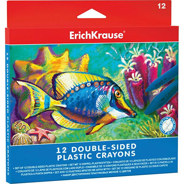 Фотография товара двухсторонние пластиковые мелки ArtBerry, 12 цветов (5409248)