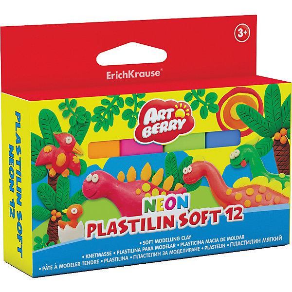 Пластилин мягкий Artberry NEON 12 цветов, 288гПластилин<br>Характеристики товара:<br><br>• материал упаковки: картон<br>• количество цветов: 12<br>• возраст: от 3 лет<br>• габариты упаковки: 13,5х11х1,8 см<br>• вес: 313 г<br>• страна производитель: Россия<br><br>Неоновые цвета нового пластилина понравится и малышам и их мамам! Лепка развивает мелкую моторику у малыша и творческие способности. Лепить можно самостоятельно и вместе со взрослыми. Пластилин не токсичен.<br><br>Пластилин мягкий Artberry NEON 12 цветов, 288г можно купить в нашем интернет-магазине.<br>Ширина мм: 135; Глубина мм: 110; Высота мм: 18; Вес г: 313; Возраст от месяцев: 36; Возраст до месяцев: 2147483647; Пол: Унисекс; Возраст: Детский; SKU: 5409314;