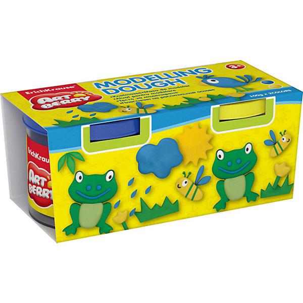 Пластилин на растительной основе Modelling Dough, 2 цвета по 100г (желтый, синий)Пластилин<br>Характеристики товара:<br><br>• материал упаковки: картон<br>• в комплект входит: 2 банки по 100 г<br>• возраст: от 3 лет<br>• габариты упаковки: 22,0х4х4,5 см<br>• вес: 200 г<br>• страна производитель: Россия<br><br>Натуральная продукция – настоящая находка для детского творчества. Так, пластилин на растительной основе станет любимым материалов для творчества у вашего малыша. Мягкий, приятный для тактильного восприятия, он станет фаворитом среди пластилинов у малыша.<br><br>Пластилин на растительной основе Modelling Dough, 2 цвета по 100г (желтый, синий), можно купить в нашем интернет-магазине.<br>Ширина мм: 130; Глубина мм: 55; Высота мм: 57; Вес г: 253; Возраст от месяцев: 36; Возраст до месяцев: 2147483647; Пол: Унисекс; Возраст: Детский; SKU: 5409327;