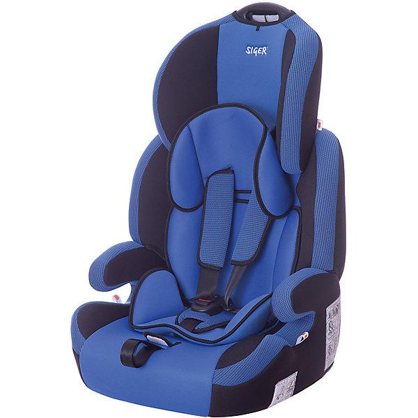 Автокресло Siger Стар Isofix 9-36 кг, синийГруппа 1-2-3  (от 9 до 36 кг)<br>Характеристики:<br><br>• группа: 1/2/3;<br>• вес ребенка: 9-36 кг;<br>• возраст ребенка: от 1 года до 12 лет;<br>• способ крепления: Isofix;<br>• способ установки: по ходу движения автомобиля;<br>• 5-ти точечные ремни безопасности, регулируются по длине и высоте;<br>• ручка для переноски автокресла;<br>• анатомическая форма кресла;<br>• регулируемый по высоте подголовник;<br>• усиленная защита от боковых ударов;<br>• чехол снимается и стирается при температуре 30 градусов;<br>• материал: пластик, полиэстер;<br>• размер автокресла: 60х50х70 см;<br>• вес автокресла: 6,8 кг.<br><br>Автокресло группы 1-2-3 предназначено для детей в возрасте от года до 12 лет. Автокресло устанавливается на заднем сидении автомобиля лицом по ходу движения автомобиля, крепится с помощью системы Изофикс. Кресло универсальное: и годовалому крохе будет уютно в кресле, и подросток будет чувствовать себя комфортно – благодаря анатомической форме кресельной чаши, мягким подлокотникам, широким боковинам, регулируемому подголовнику, вкладышу для малышей. <br><br>Автокресло Стар Isofix 9-36 кг., SIGER, цвет синий можно купить в нашем интернет-магазине.<br>Ширина мм: 500; Глубина мм: 470; Высота мм: 730; Вес г: 6500; Цвет: синий; Возраст от месяцев: 12; Возраст до месяцев: 144; Пол: Мужской; Возраст: Детский; SKU: 5409374;