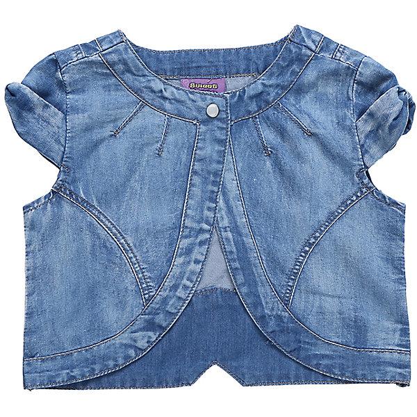 Жилет джинсовый для девочки Sweet BerryЖилеты<br>Укороченный жилет для девочки из хлопковой ткани под джинсу. Декорирован яркой вышивкой.<br>Состав:<br>100%хлопок<br>Ширина мм: 190; Глубина мм: 74; Высота мм: 229; Вес г: 236; Цвет: синий; Возраст от месяцев: 24; Возраст до месяцев: 36; Пол: Женский; Возраст: Детский; Размер: 98,104,128,122,116,110; SKU: 5410091;