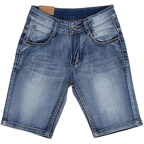 Шорты джинсовые для мальчика Sweet BerryШорты, бриджи, капри<br>Джинсовые шорты для мальчика. Застегиваются на молнию и пуговицу.   В боковой части пояса находятся вшитые эластичные ленты, регулирующие посадку по талии.<br>Состав:<br>98%хлопок 2%эластан<br>Ширина мм: 191; Глубина мм: 10; Высота мм: 175; Вес г: 273; Цвет: синий; Возраст от месяцев: 72; Возраст до месяцев: 84; Пол: Мужской; Возраст: Детский; Размер: 122,116,110,98,104,128; SKU: 5410701;