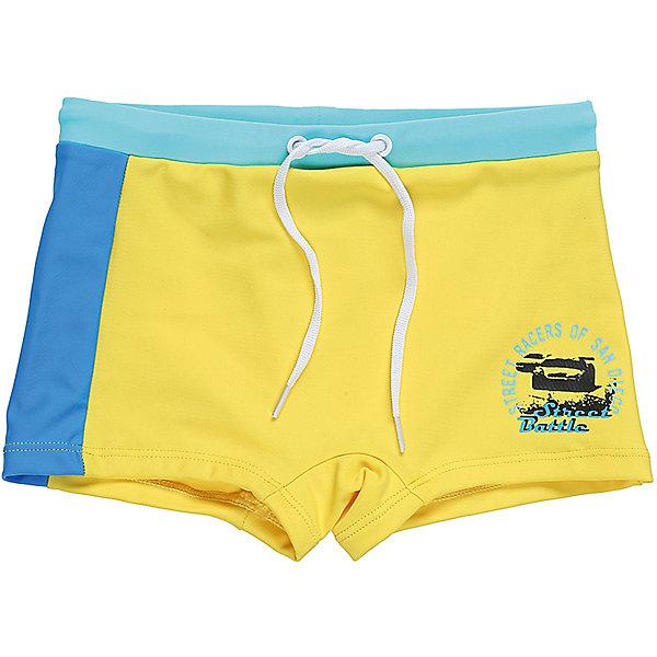 Плавки для мальчика Sweet BerryКупальники и плавки<br>Классические купальные плавки-шорты для мальчика с ярким принтом. Пояс-резинка дополнен шнуром для регулирования объема.<br>Состав:<br>85%нейлон 15% эластан<br>Ширина мм: 183; Глубина мм: 60; Высота мм: 135; Вес г: 119; Цвет: зеленый; Возраст от месяцев: 108; Возраст до месяцев: 120; Пол: Мужской; Возраст: Детский; Размер: 140,128,116,110,104; SKU: 5410708;