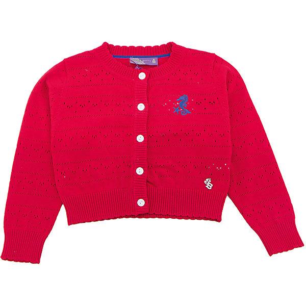 Sweet Berry Кардиган для девочки Sweet Berry жакет для девочки sweet berry baby цвет красный 732030 размер 86