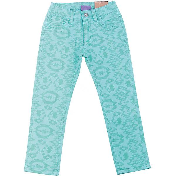 Брюки для девочки Sweet BerryБрюки<br>Стильные джинсовые брюки для девочки. Зауженный крой. Застегиваются на молнию и пуговицу. Шлевки на поясе рассчитаны под ремень. В боковой части пояса находятся вшитые эластичные ленты, регулирующие посадку по талии.<br>Состав:<br>98%хлопок 2%эластан<br>Ширина мм: 215; Глубина мм: 88; Высота мм: 191; Вес г: 336; Цвет: голубой; Возраст от месяцев: 24; Возраст до месяцев: 36; Пол: Женский; Возраст: Детский; Размер: 98,104,128,122,116,110; SKU: 5412801;
