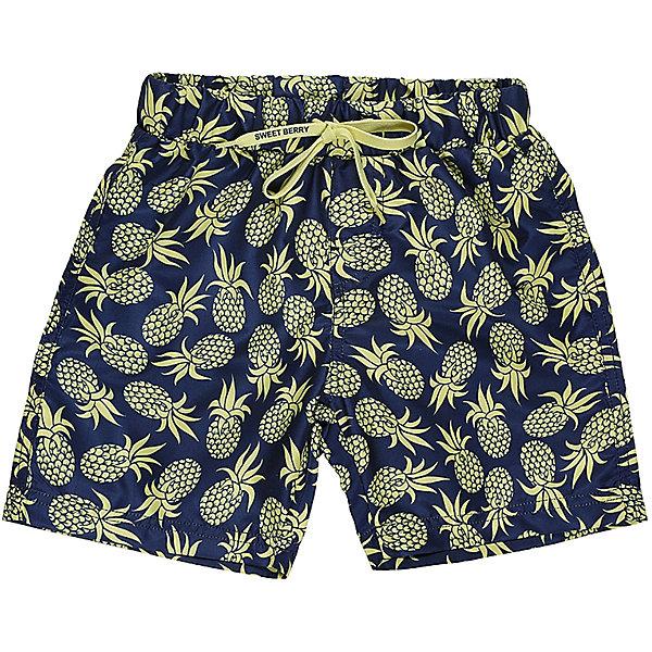 Sweet Berry Шорты пляжные для мальчика Sweet Berry купальники и плавки sweet berry шорты купальные для мальчиков гаваи