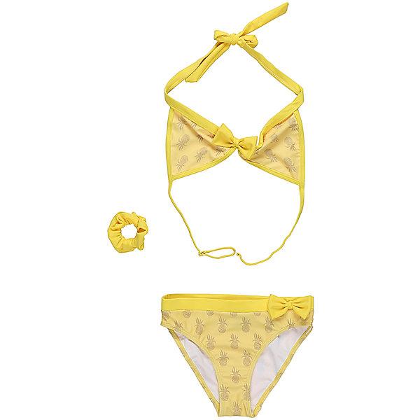 Купить Купальник для девочки Luminoso, Китай, желтый, Женский