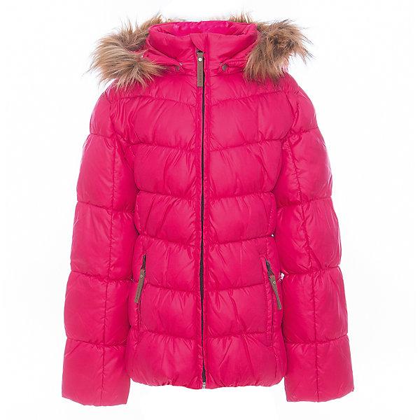 Куртка для девочки LuhtaОдежда<br>Куртка для девочки от известного бренда Luhta.<br>Куртка с отстегивающимся капюшоном, искусственный мех, элегантный силуэт, декоративная прострочка, боковые карманы на молнии, утепление 280 гр. Рекомендуемый температурный режим до -30 град. Внутри пальто находится температурный датчик.<br>Технологии: Luhta WATER REPELLENT; Luhta SAFETY; Luhta TEMPERATURE CONTROL; Luhta DOWN MIX; Luhta -30; Reflectors<br>Состав:<br>100% полиэстер<br>Ширина мм: 356; Глубина мм: 10; Высота мм: 245; Вес г: 519; Цвет: розовый; Возраст от месяцев: 96; Возраст до месяцев: 108; Пол: Женский; Возраст: Детский; Размер: 134,164,158,152,146,140; SKU: 5413996;