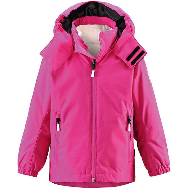 Куртка Roundtrip  Reimatec® ReimaОдежда<br>Характеристики товара:<br><br>• цвет: розовый<br>• состав: 100% полиэстер, полиуретановое покрытие<br>• температурный режим: -15° до +5° градусов<br>• внутренняя флисовая куртка<br>• водонепроницаемая мембрана: от 10000 мм<br>• основные швы проклеены<br>• съёмный капюшон<br>• молния<br>• светоотражающие детали<br>• «дышащий» материал<br>• ветро- водо- и грязеотталкивающий материал<br>• кнопки Reima® Play Layers <br>• карманы<br>• комфортная посадка<br>• страна производства: Китай<br>• страна бренда: Финляндия<br><br>Верхняя одежда для детей может быть модной и комфортной одновременно! Эти зимняя куртка поможет обеспечить ребенку комфорт и тепло. Она отлично смотрится с различной одеждой и обувью. Изделие удобно сидит и модно выглядит. Стильный дизайн разрабатывался специально для детей. Отличный вариант для активного отдыха зимой!<br><br>Одежда и обувь от финского бренда Reima пользуется популярностью во многих странах. Эти изделия стильные, качественные и удобные. Для производства продукции используются только безопасные, проверенные материалы и фурнитура. Порадуйте ребенка модными и красивыми вещами от Reima! <br><br>Куртку Roundtrip от финского бренда Reimatec® Reima (Рейма) можно купить в нашем интернет-магазине.<br>Ширина мм: 356; Глубина мм: 10; Высота мм: 245; Вес г: 519; Цвет: розовый; Возраст от месяцев: 24; Возраст до месяцев: 36; Пол: Унисекс; Возраст: Детский; Размер: 98,128,92,116,140,134,104,110,122; SKU: 5415475;