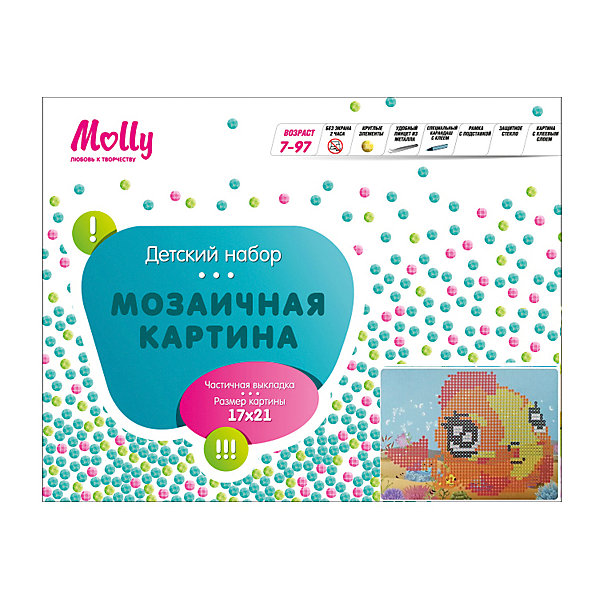 Molly Мозаичная картина Рыбка