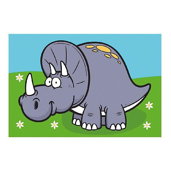 Molly Раскраска по номерам Динозавр Ярик