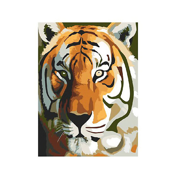 Molly Картина по номерам Тигр, 40*50 см картина по номерам 40 x 50 см ktmk 393605