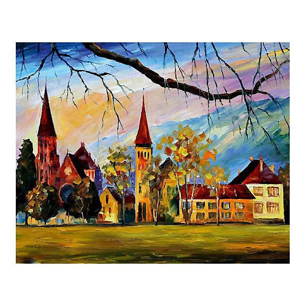 Molly Картина по номерам Афремов: Швейцария, 40*50 см